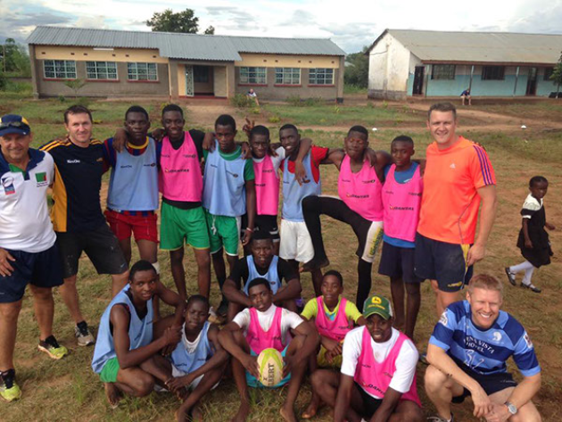 SUFC heads to Zambia to support Livingstone Rhinos Rugby Club