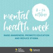 Mental Health Week at Sydney Uni