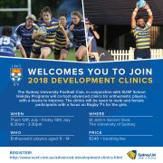 Advanced Junior Rugby Coaching Clinics