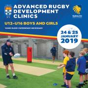 Advanced Junior Rugby Coaching Clinics - 24th & 25th January 2019