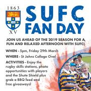 SUFC Fan Day - Friday 29th March