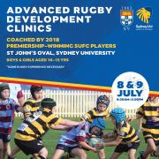 Advanced Rugby Development Clinics - 8th & 9th July