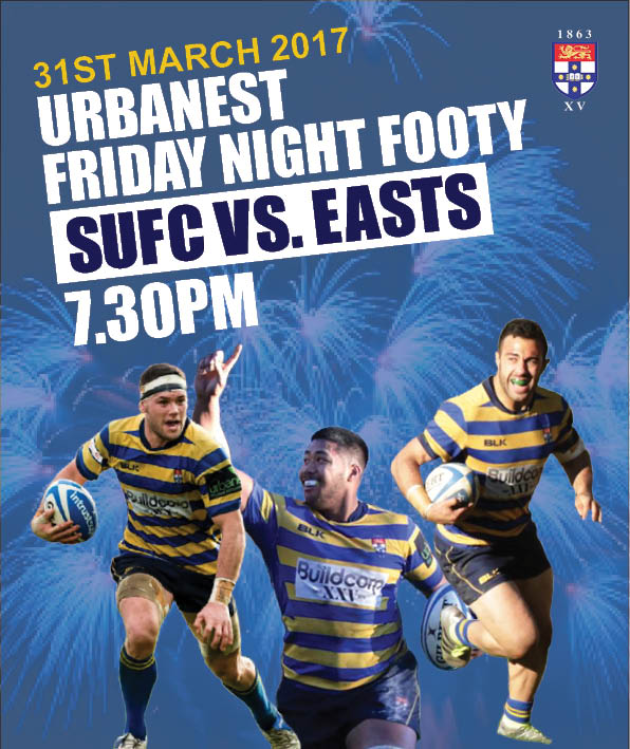 Friday Night Footy | Friday 31st March