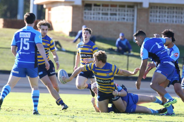 Students secure bonus point over Two Blues