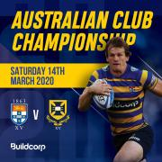 Team Announcement: Buildcorp Australian Club Championships
