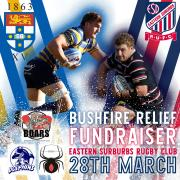 Trial v Easts 28th March | Bushfire Relief Fundraiser
