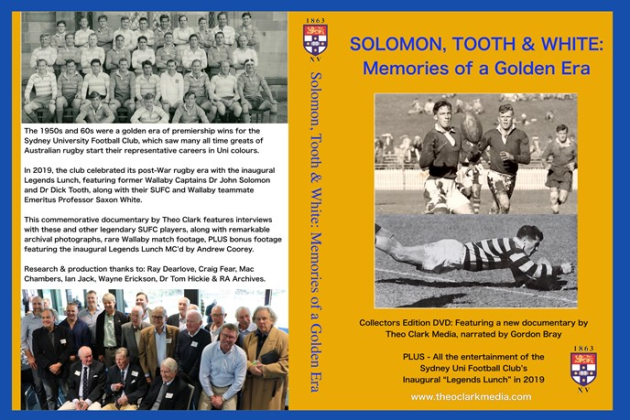 Solomon, Tooth & White: Memories of a Golden Era
