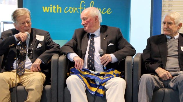 Inaugural Legends Lunch a hit