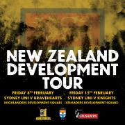 New Zealand Development tour and trial fixtures