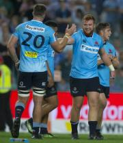 Harry Johnson-Holmes makes debut in Waratahs Super Rugby opener