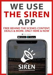 Get a behind the scenes look at the team with the Siren on Grand Final day!