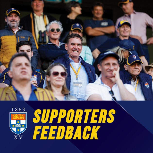 SUPPORTERS FEEDBACK | Have your say